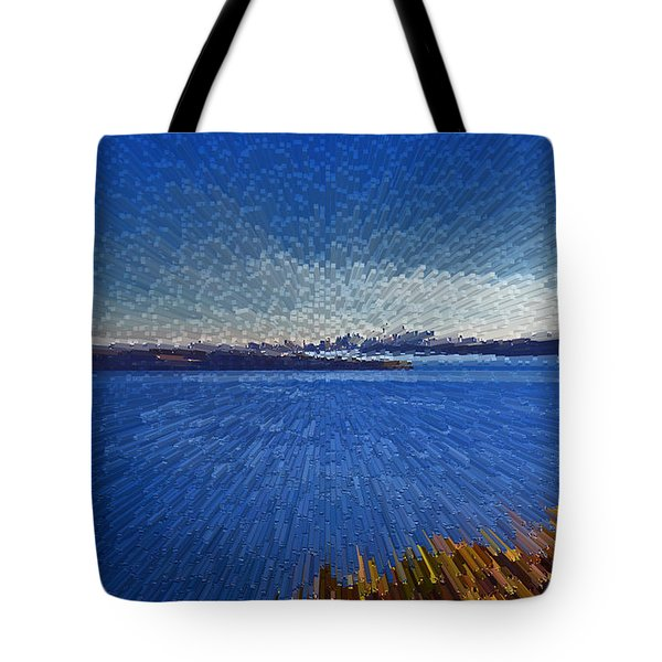 Sydney From North Head Tote Bag