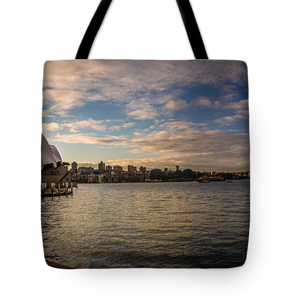 Tote Bag featuring the photograph Sydney Harbor by Andrew Matwijec