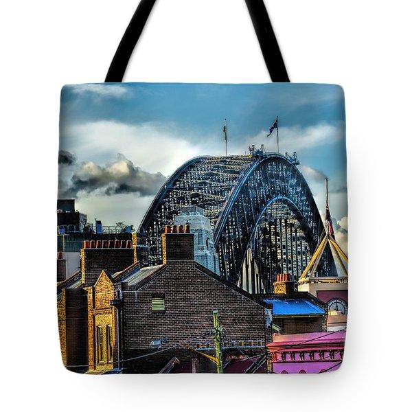 Sydney Harbor Bridge Tote Bag