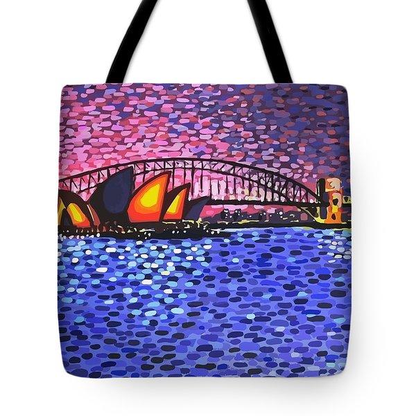 Sydney Harbour Tote Bag by Alan Hogan