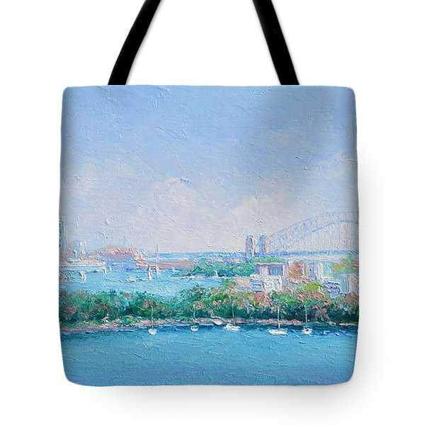 Sydney Harbour Bridge - Sydney Opera House - Sydney Harbour Tote Bag