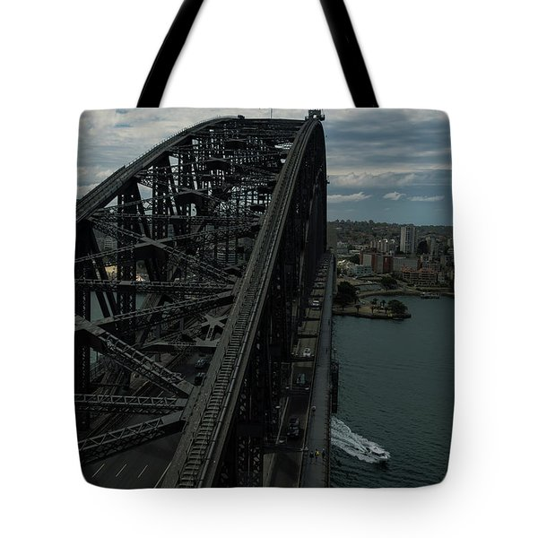 Sydney Harbour Bridge View From Tower Tote Bag