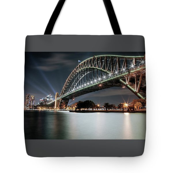 Sydney Harbour Lights Tote Bag