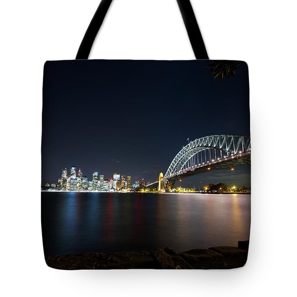 Sydney Harbour Silk Tote Bag