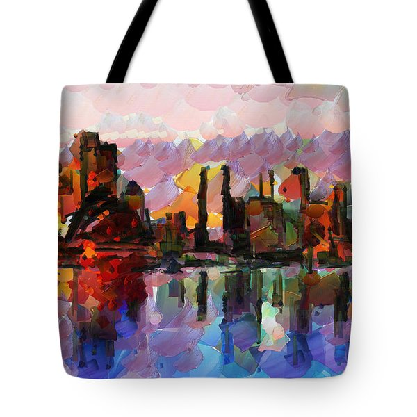 Sydney Here I Come Tote Bag