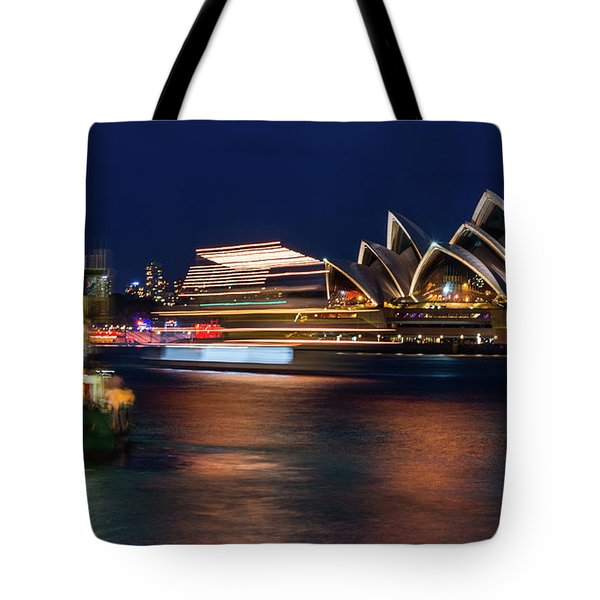 Sydney Night Life Tote Bag