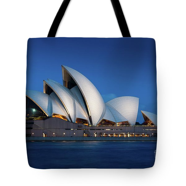 Sydney Opera House After Dark Tote Bag