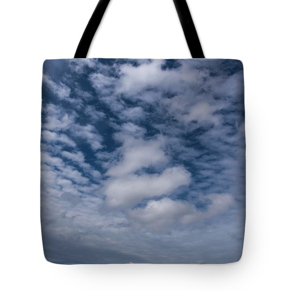 Sydney Opera House And Cloudscape Tote Bag