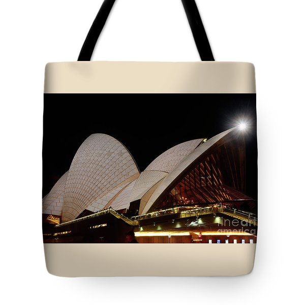 Tote Bag featuring the photograph Sydney Opera House Close View 2 By Kaye Menner by Kaye Menner