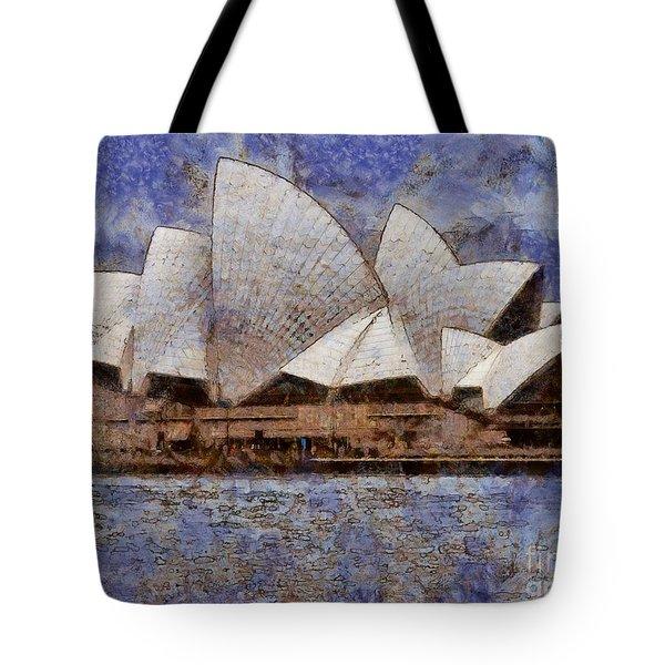 Sydney Opera House Tote Bag