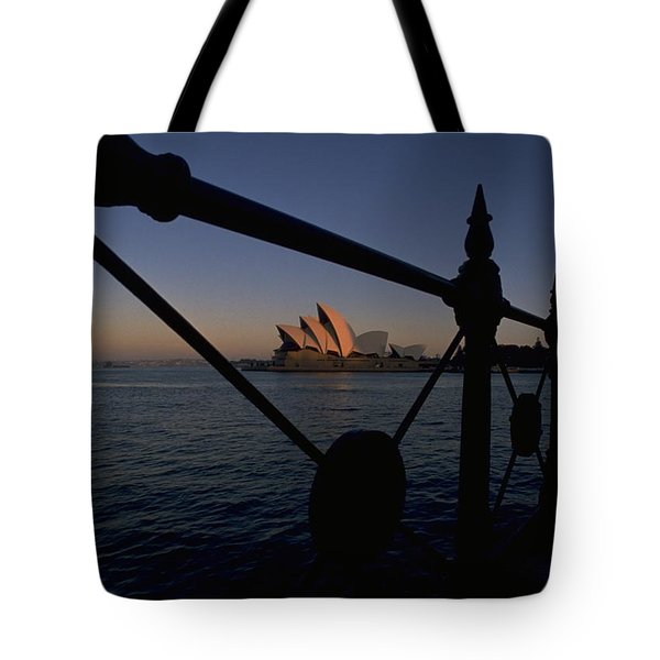 Tote Bag featuring the photograph Sydney Opera House by Travel Pics