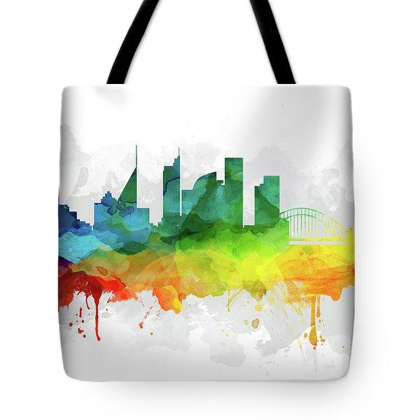 Sydney Skyline Mmr-ausy05 Tote Bag