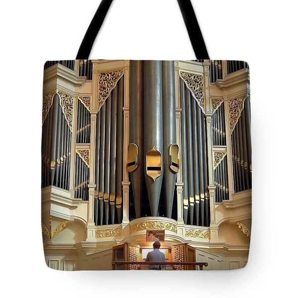 Sydney Town Hall Organ Tote Bag