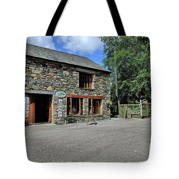 Syke Farm Tea Room Tote Bag