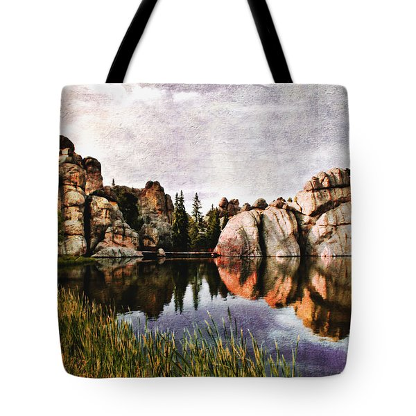 Sylvan Lake - Black Hills Tote Bag