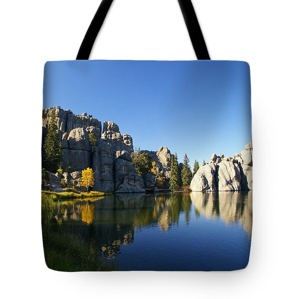 Sylvan Lake, Custer South Dakota Tote Bag