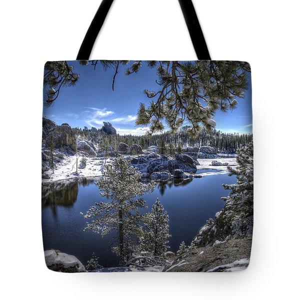 Sylvan Lake Tote Bag