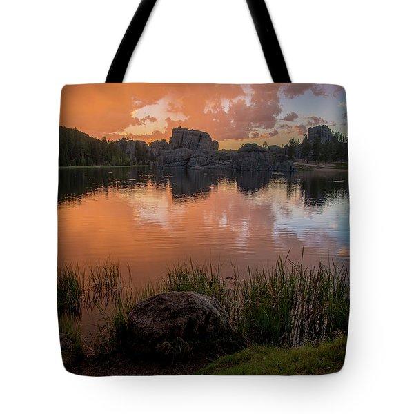 Tote Bag featuring the photograph Sylvan Lake by Gary Lengyel