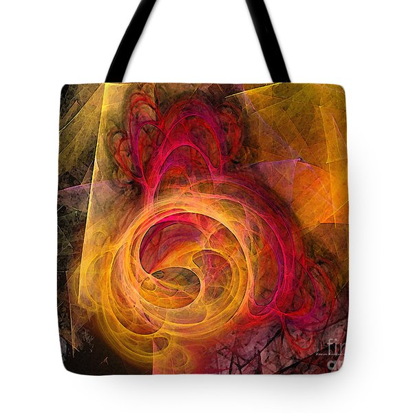Symbiosis Abstract Art Tote Bag