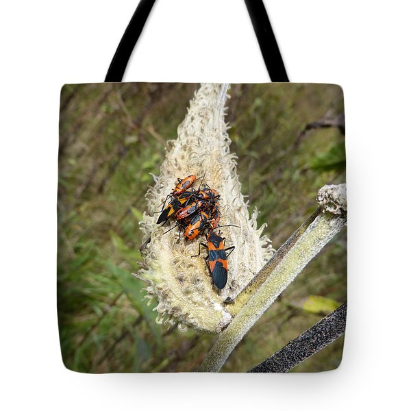 Tote Bag featuring the photograph Symbiosis by Joel Deutsch