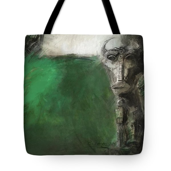 Symbol Mask Painting - 03 Tote Bag