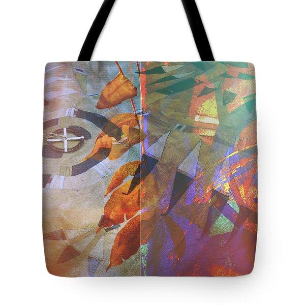 Symbolism No. 5 Tote Bag by Toni Hopper