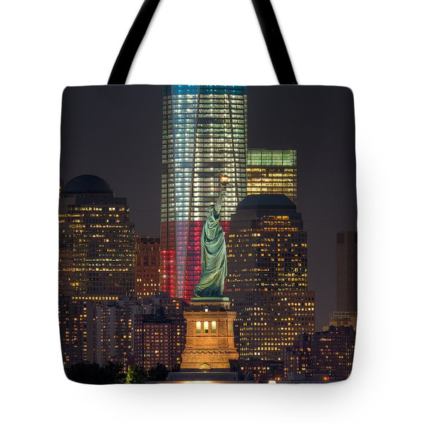 Symbols Of Freedom II Tote Bag
