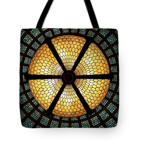 Symmetric Lights Tote Bag