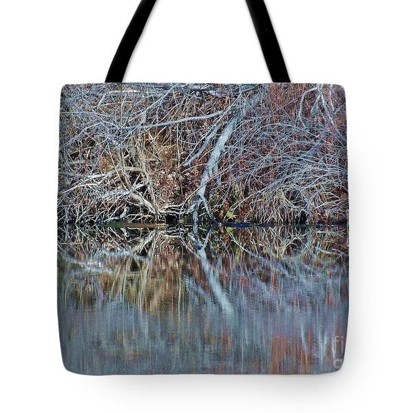 Tote Bag featuring the photograph Symmetry by Christian Mattison