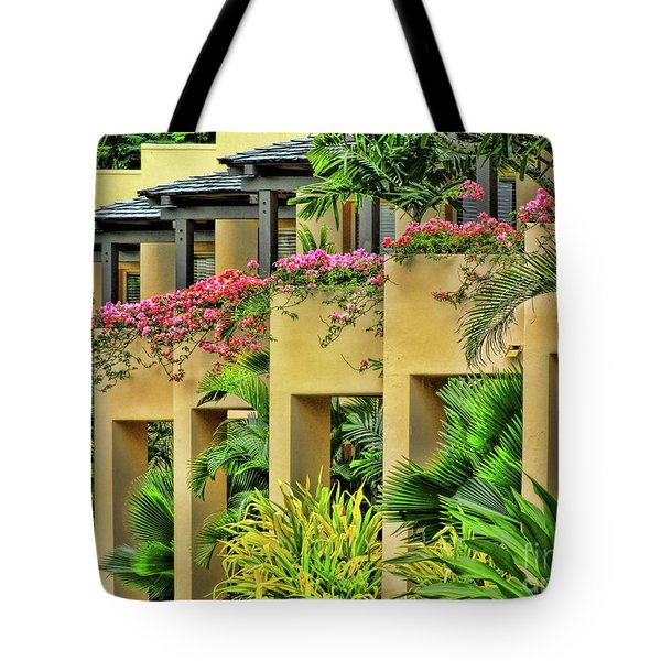 Symmetry  Tote Bag by Karen Lewis