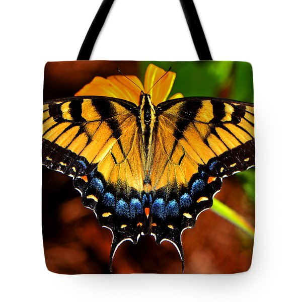 Symmetry Of A Butterfly 004 Tote Bag