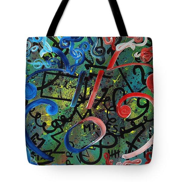 Sympathy Symphony Tote Bag