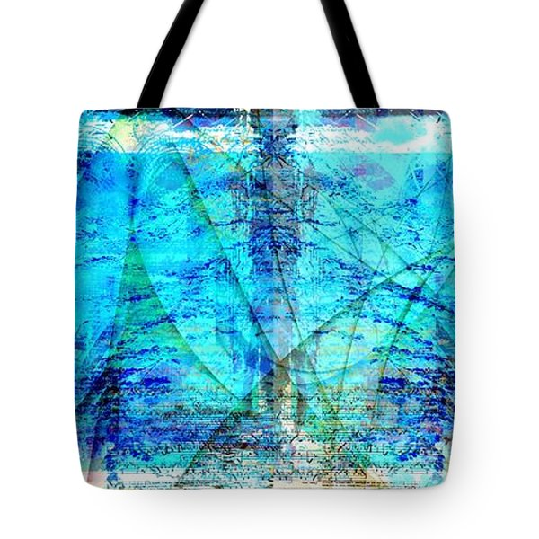 Tote Bag featuring the digital art Symphonic Orchestra by Art Di