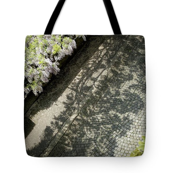Sidewalk Symphony Tote Bag by Colleen Williams