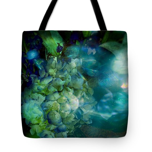 Symphony In Blue Tote Bag by Colleen Taylor