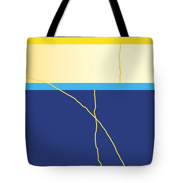 Symphony In Blue - Movement 2 - 2 Tote Bag