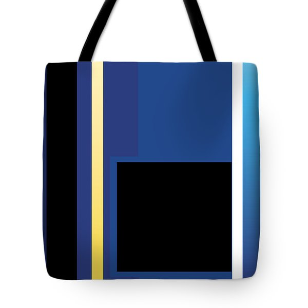 Symphony In Blue - Movement 2 - 3 Tote Bag
