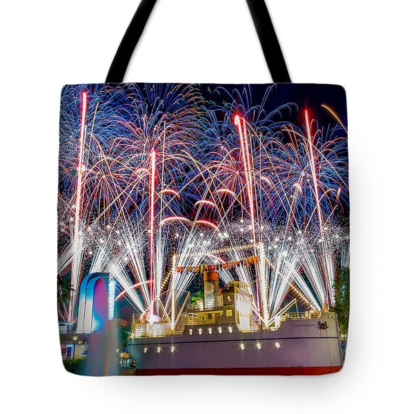 Symphony In The Stars As Seen Around Echo Lake Tote Bag