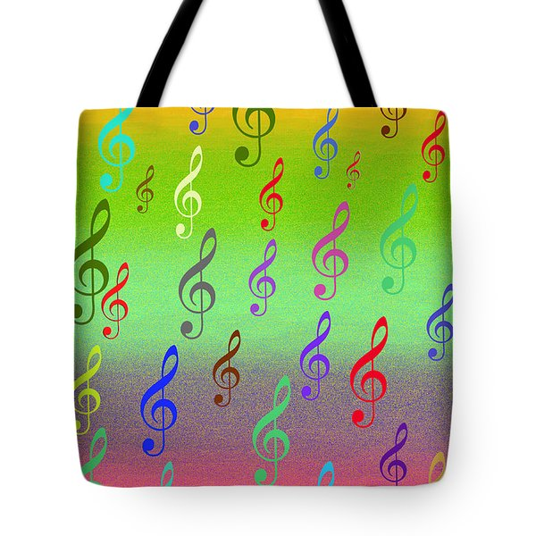 Tote Bag featuring the digital art Symphony Of Colors by Angel Jesus De la Fuente
