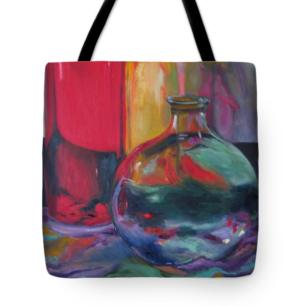 Symphony Of Vases Tote Bag