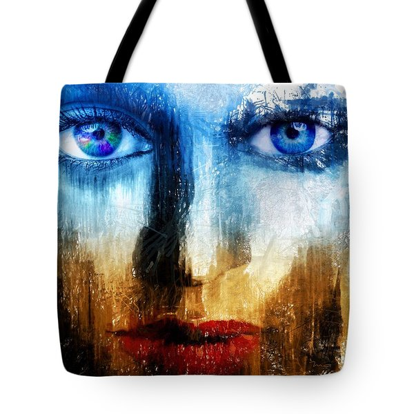 Tote Bag featuring the painting Synaptic Awakening by Mark Taylor