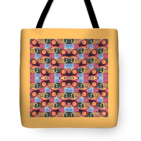 Synchronicity - A  T J O D 1 And 9 Arrangement Tote Bag