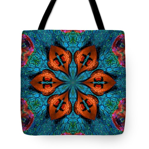 Synchronized Swimmers Tote Bag
