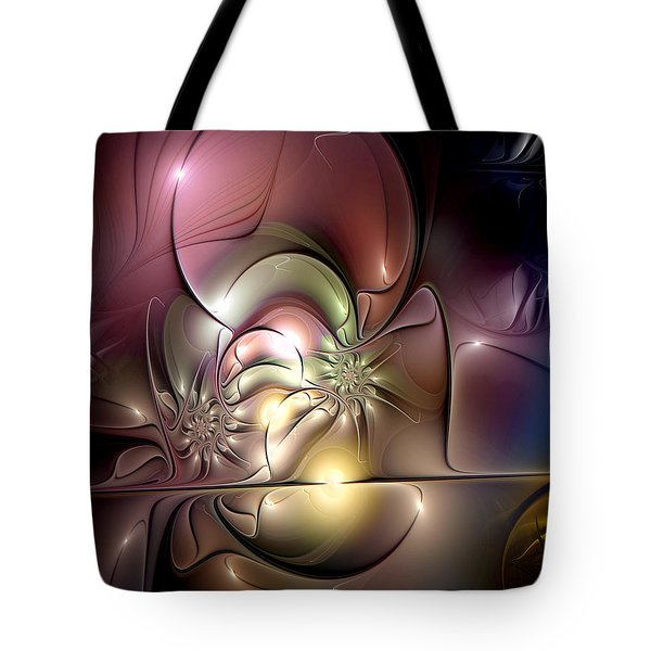 Synergetic Hypothesis Tote Bag by Casey Kotas