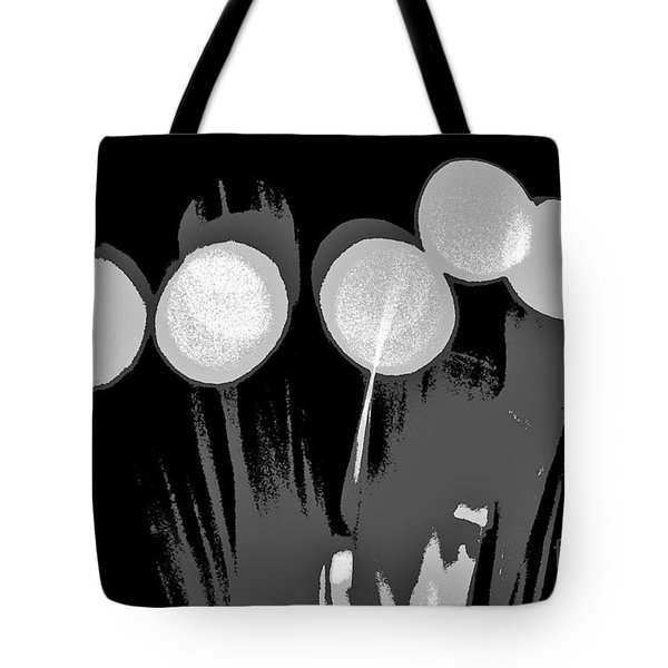 Synergy B/w Tote Bag