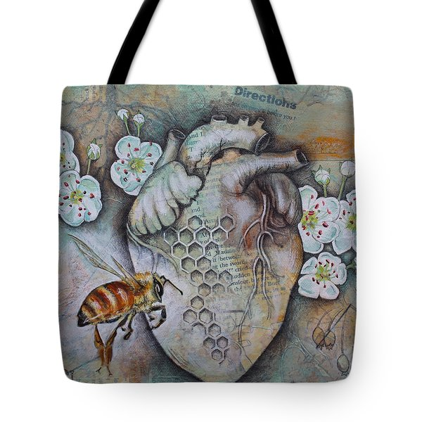 Synergy Tote Bag by Sheri Howe