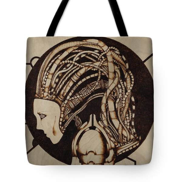 Synth Tote Bag by Jeff DOttavio