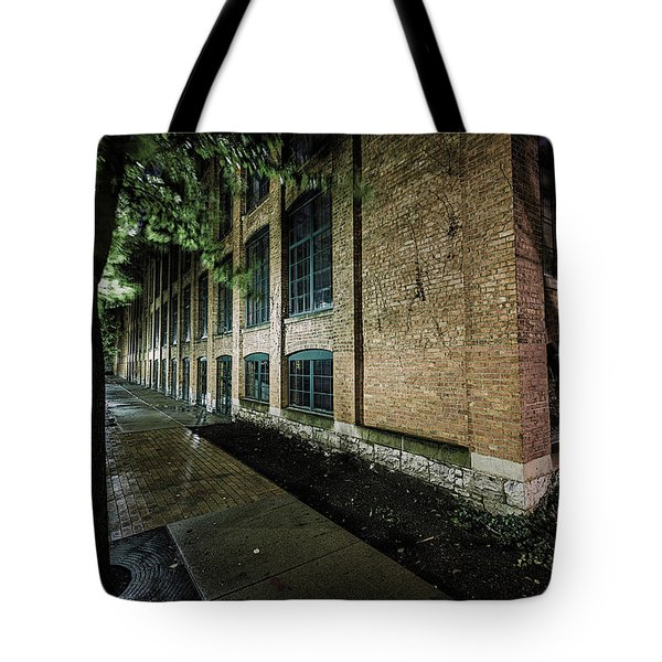 Tote Bag featuring the photograph Syracuse Sidewalks by Everet Regal