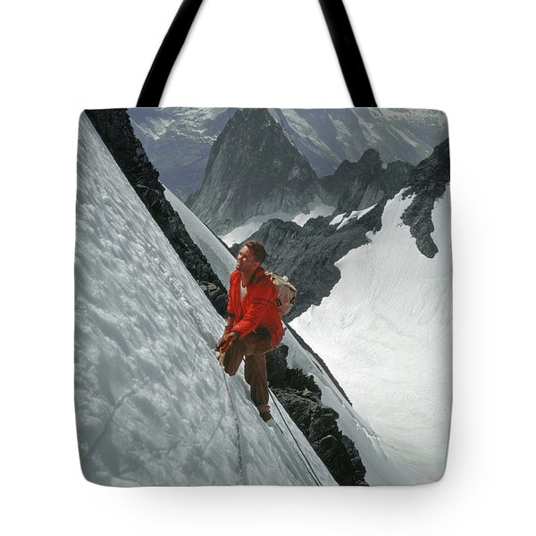 T-202707 Eric Bjornstad On Howser Peak Tote Bag