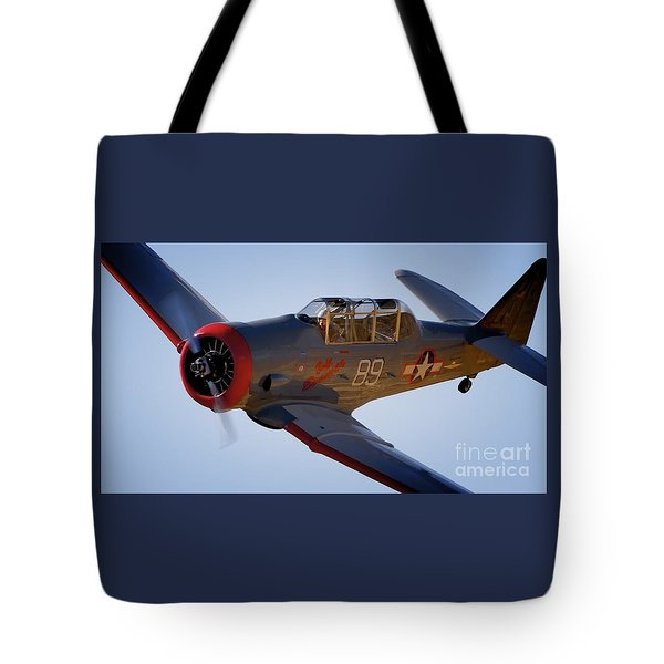 T-6 Race 89 Baby Boomer Tote Bag